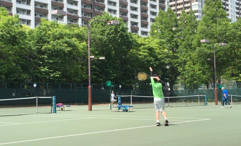 テニス 並行陣