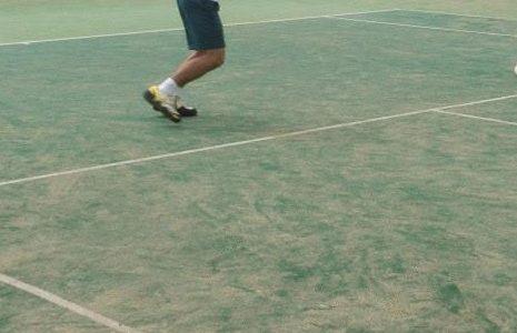テニス 攻撃
