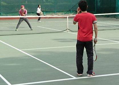 テニス 練習
