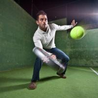 テニス スライス