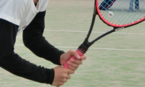 テニス ボレー