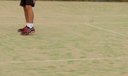 テニス ポジショニング