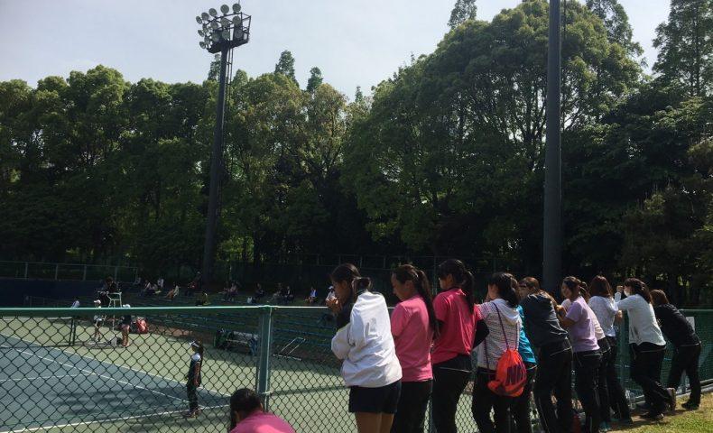 テニス 新入生
