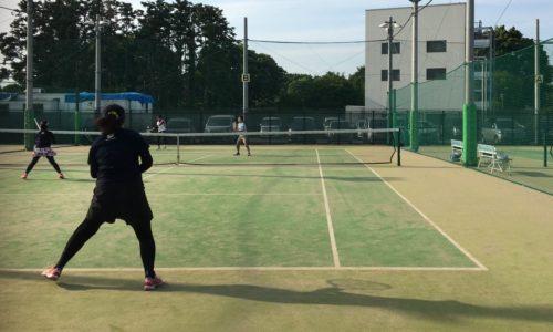テニス 守備