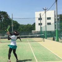テニス ロブ