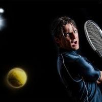 テニス ドロップショット