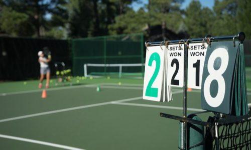 テニス チャンス